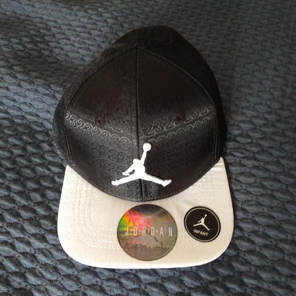 6ad9434a Michael Jordan Accessories   Jordan Jumpman Infant Hat With Snap ...